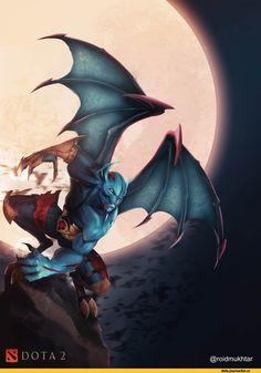 Night Stalker :: Dota Art :: Dota (Dota Дота, Дота Defence of the Ancients) :: rokyu :: фэндомы Defense Of The Ancients, Dota 2 Game, Dota 2 Wallpaper, Games Images, Video Game Characters, Starcraft, Fantasy Rpg, Esports, Dungeons And Dragons