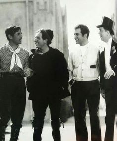 Clark Gable, Spencer Tracy, George Montgomery and Wm Powell - Wow!