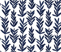 sage - indigo fabric by jillbyers on Spoonflower - custom fabric Painting Patterns, Print Patterns, Embroidery Patterns, Boho Fabric By The Yard, Spoonflower Fabric, Orange Fabric, Pattern Wallpaper, Fabric Wallpaper, Custom Wallpaper