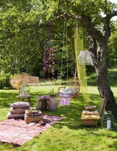 heerlijke tuin!