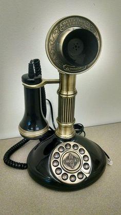 Paramount Crosley 1897 Antique Roman Candlestick Reproduction Rotary Style Phone #Paramount #Crosley #ParamountPhone #ParamountPhones #CrosleyPhone #CrosleyPhones #Antique #AntiquePhone #AntiquePhones #RomanColumn #Candlestick #CandlestickPhone #OldPhones #OldPhone #Rotary #RotaryPhone #ForSale #Shopping #eBay #etsy #loveit #sonice #buyitnow
