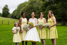 Another beautiful Lipstick & Curls bridal party http://www.lipstickandcurls.net/services/bridal-styling/