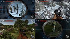 Sniper - Mountain Shooting Sniper 3D - Penembak Jitu Mematikan di atas P...