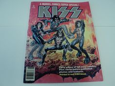 KISS A Marvel Comics Super Special! 1977 #1 Printed in Real Kiss blood! Wow