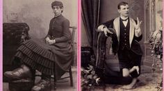 """Glamour shots of carnival """"freaks"""" of the 1800s"""