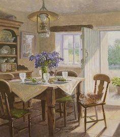 Stephen Darbishire.  Bluebells in the Kitchen