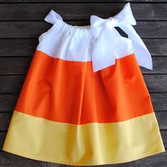 Yummy Yummy! Candy Corn dress =)
