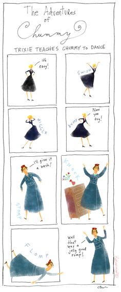 For fans of Call the Midwife: Chummy illustrations by Jana Christy, via weebirdy.com. #callthemidwife