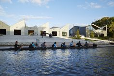 Studio Gang Architects, WMS Boathouse at Clarck Park, Chicago. Photo Steve Hall © Hedrich Blessing
