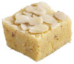 Indian Sweets - Badam Barfi