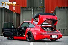 Visit The MACHINE Shop Café... ❤ Best of Porsche @ MACHINE ❤ (Blood Red PORSCHE…