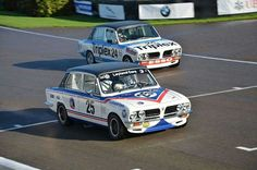 Triumph Dolomite Sprint look good in their racing liveries too