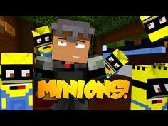 Minecraft: THE MINION CHALLENGE - Mod Minigame
