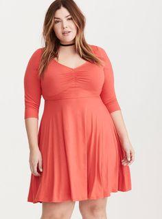 Plus Size Dress - Love that color!