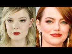 EMMA STONE OSCARS MAKEUP 2017 TUTORIAL & DUPES | Mallory1712 - YouTube