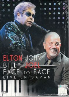 ELTON JOHN BILLY JOEL Face To Face Live In Japan DVD NEW NTSC PAL Region All