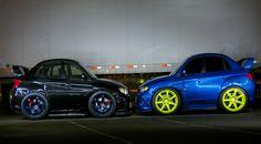 Jason Esposito | Mini Cars | Subaru STi