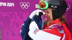 Jenny Jones- just a bronze,, but the first medal on snow for GB.