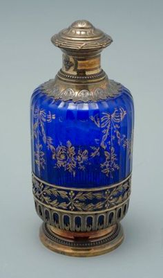 Antique vintage scent perfume bottle