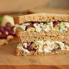 My favorite Chicken Salad Sandwich. Flavorful, simple, incredibly delicious, with a few ingredients not found in your average chicken salad.