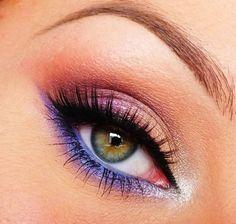 Kolorowy make up