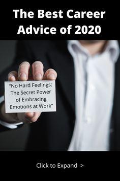 "Meet Liz Fosslien, co-author of ""No Hard Feelings: The Secret Power of Embracing Emotions at Work"" in blog and video. Feelings Book, Secret Power, Job Interviews, Best Careers, Career Advice, Author, Meet, Books, Livros"