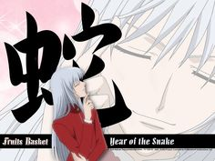 A basket of ' Zodiac Chinese's humans. This is a cute anime, with a lot animals. This is the Zodiac Chinese's legend. Anime Guys, Manga Anime, Pure Image, Snake Wallpaper, Fruits Basket Anime, Year Of The Snake, Manga Illustration, Anime Comics, Sailor Moon