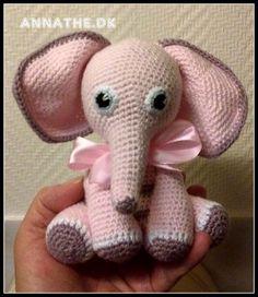 Opskrifter - gratis Crochet Gratis, Crochet Toys, Crochet Baby, Knit Crochet, Baby Knitting Patterns, Baby Patterns, Crochet Patterns, Crochet For Kids, Easy Crochet