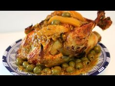 Chicken with Olives and Preserved Lemons Recipe - CookingWithAlia - Episode 366 - YouTube