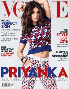 Priyanka Chopra Poses for 'Vogue India'