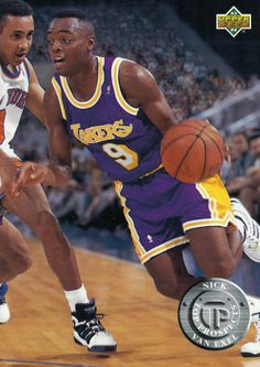 de512152940 ROOKIE 1993 94 UPPER DECK JUMBO TOP PROSPECTS NICK VAN EXEL LOS ANGELES  LAKERS Nick