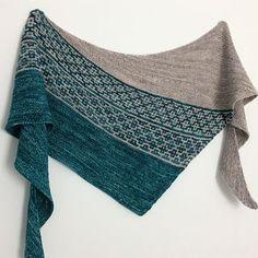 Emiliana by Lisa Hannes   Knitting pattern shawl