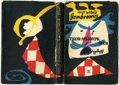 """""""Trans-Atlantyk. Ślub"""", Warszawa 1957, cover by Jan Młodożeniec."""