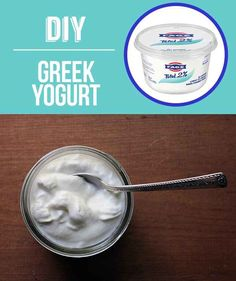 Homemade Greek Yogurt | 29 Foods You Didn't Know You Could DIY