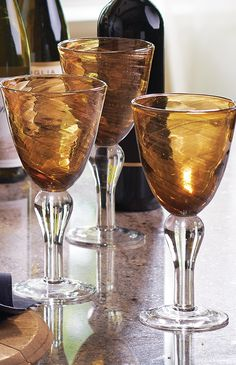 Our Shimmer Goblets create a festive atmosphere every day of the week.
