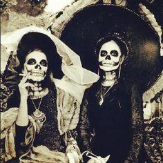 vintage dia de muertos