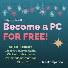 Become a PC for free! Visit juliephelps.com and drop me a line to find out how.