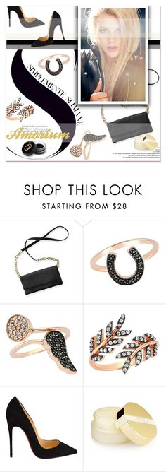 """""""Amorium"""" by janee-oss ❤ liked on Polyvore featuring Amorium, Christian Louboutin, AERIN, Gucci, women's clothing, women's fashion, women, female, woman and misses"""