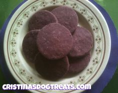 Purple Velvet Blackberry and Cream Cheese Dog Treat Recipe from Kol's Notes for Tasty Tuesday