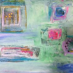 Windows of love 💕 pastel and soft 16 mixed medium. Irish Art, Soft And Gentle, Window Boxes, Mixed Media, My Arts, Pastel, Interior Design, Abstract, Grateful