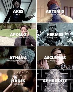 X-Men: Days of Future Past characters assigned Greek gods and goddesses.