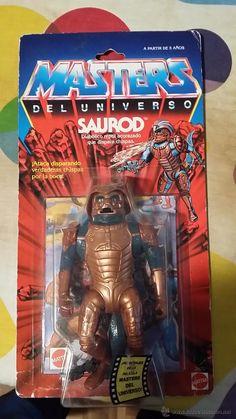 SAUROD EN BLISTER MASTERS DEL UNIVERSO HE-MAN MOTU - Foto 1