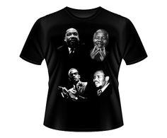 Black Leaders - Mandela, Malcolm X, Martin Luther King & Steve Biko