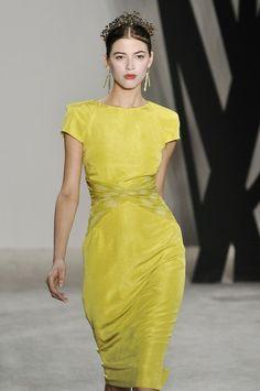 Jason Wu - stunning, timeless yellow