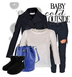 """Baby it's cold outside!"" by brunarosso-eshop on Polyvore featuring moda, Komar, One Teaspoon, Golden Goose, Mes Demoiselles..., Alexander Wang e UGG Australia"