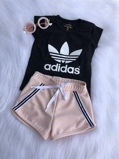 Cute Lazy Outfits, Cute Baby Girl Outfits, Sporty Outfits, Swag Outfits, Stylish Outfits, Girls Fashion Clothes, Teen Fashion Outfits, Outfits For Teens, Sporty Fashion
