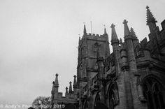 Steeple Ashton church.