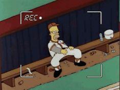 Homer Simpson The Simpsons GIF - HomerSimpson TheSimpsons Recording - Discover & Share GIFs Animated Cartoons, Cool Cartoons, Gifs, America Dad, Memes Estúpidos, Funny Memes, Nursing Books, Futurama, The Simpsons