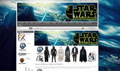 Wir verkaufen unseren Gambio GX3-Onlineshop für STAR WARS Merchandising…
