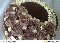 Piškotový dort s ganache recept - TopRecepty.cz Cake, Desserts, Food, Tailgate Desserts, Deserts, Kuchen, Essen, Postres, Meals